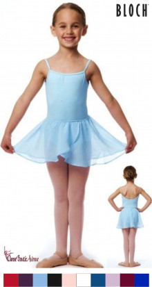 JUPETTE DANSE ENFANTS BLOCH CR5110 BARRE DANCE SKIRT