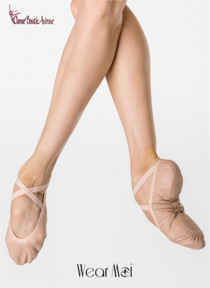 WEAR MOI WM PLUTON Demi Pointes Cuir Stretch