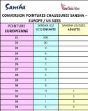 SANSHA Demi-Pointes enfants TUTU SPLIT 5C