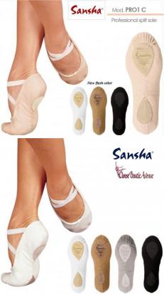 SANSHA Demi-pointes PRO REF1C