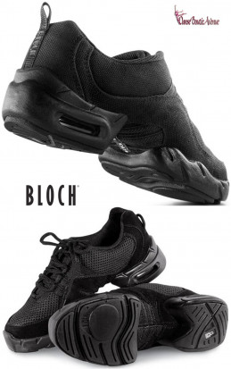 SNEAKER BLOCH SO528 CANVAS BLACK