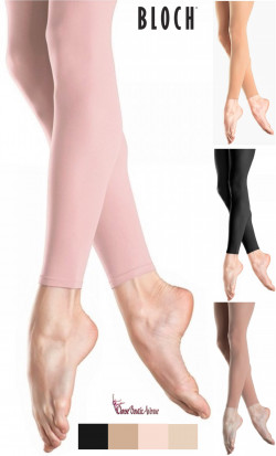 COLLANTS SANS PIEDS FOOTLESS BLOCH T0940L ... 323c71ce970
