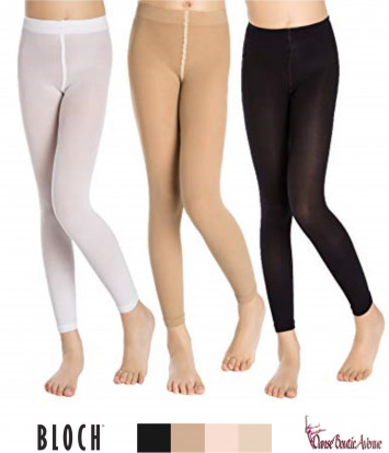 COLLANTS ENFANTS SANS PIEDS FOOTLESS BLOCH T0940G